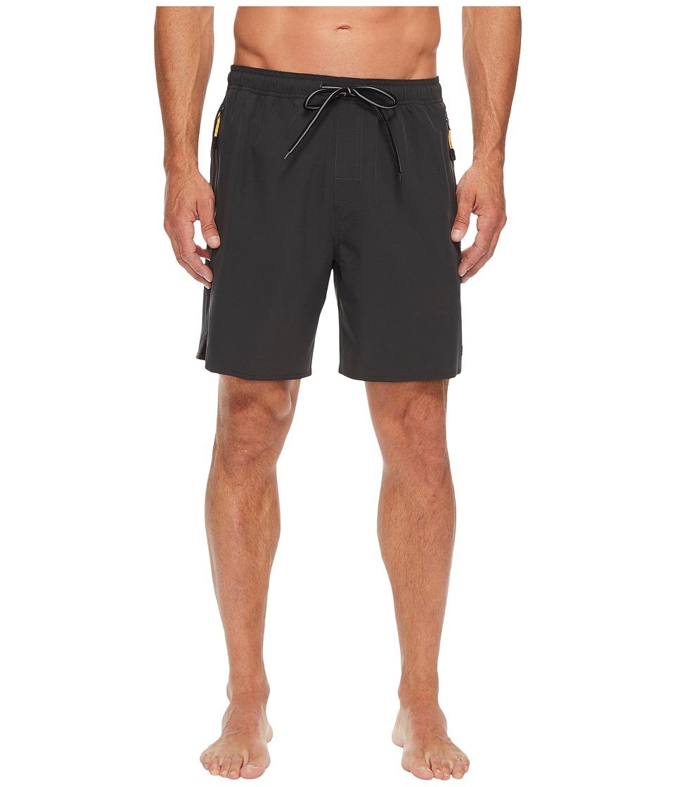 Quiksilver Waterman Lockdown Volley Shorts (Coal) Men