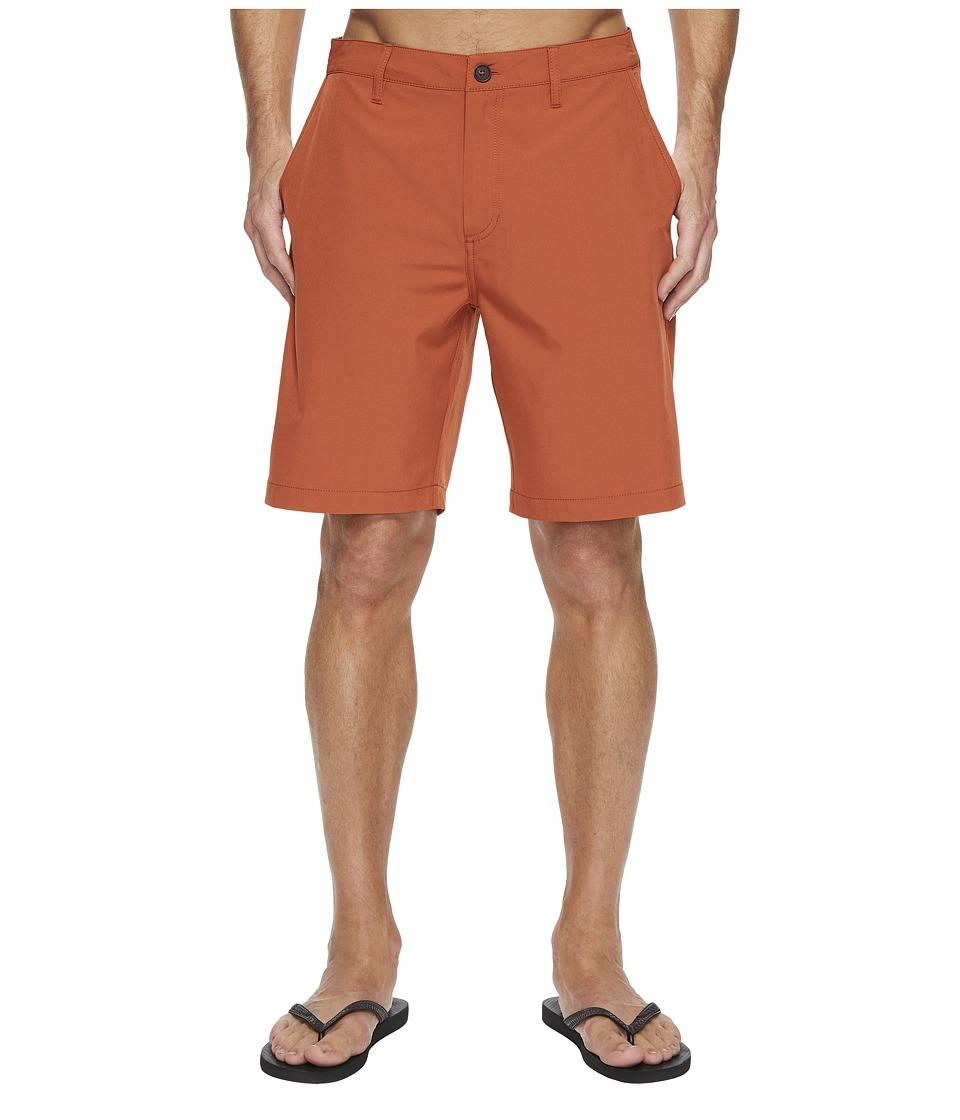 Quiksilver Waterman Vagabond 2 Shorts (Baked Clay) Men
