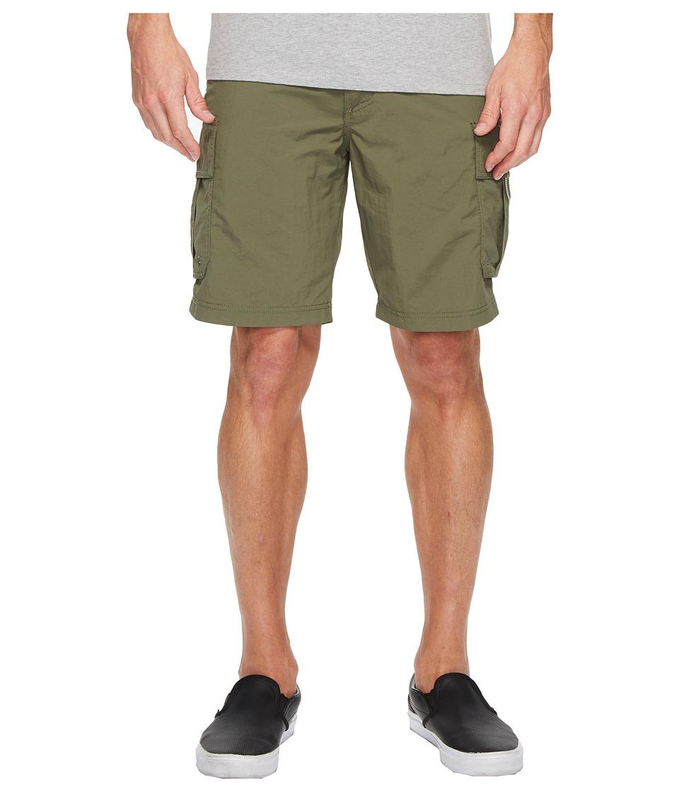 Quiksilver Waterman Skipper Cargo Shorts (Beetle) Men