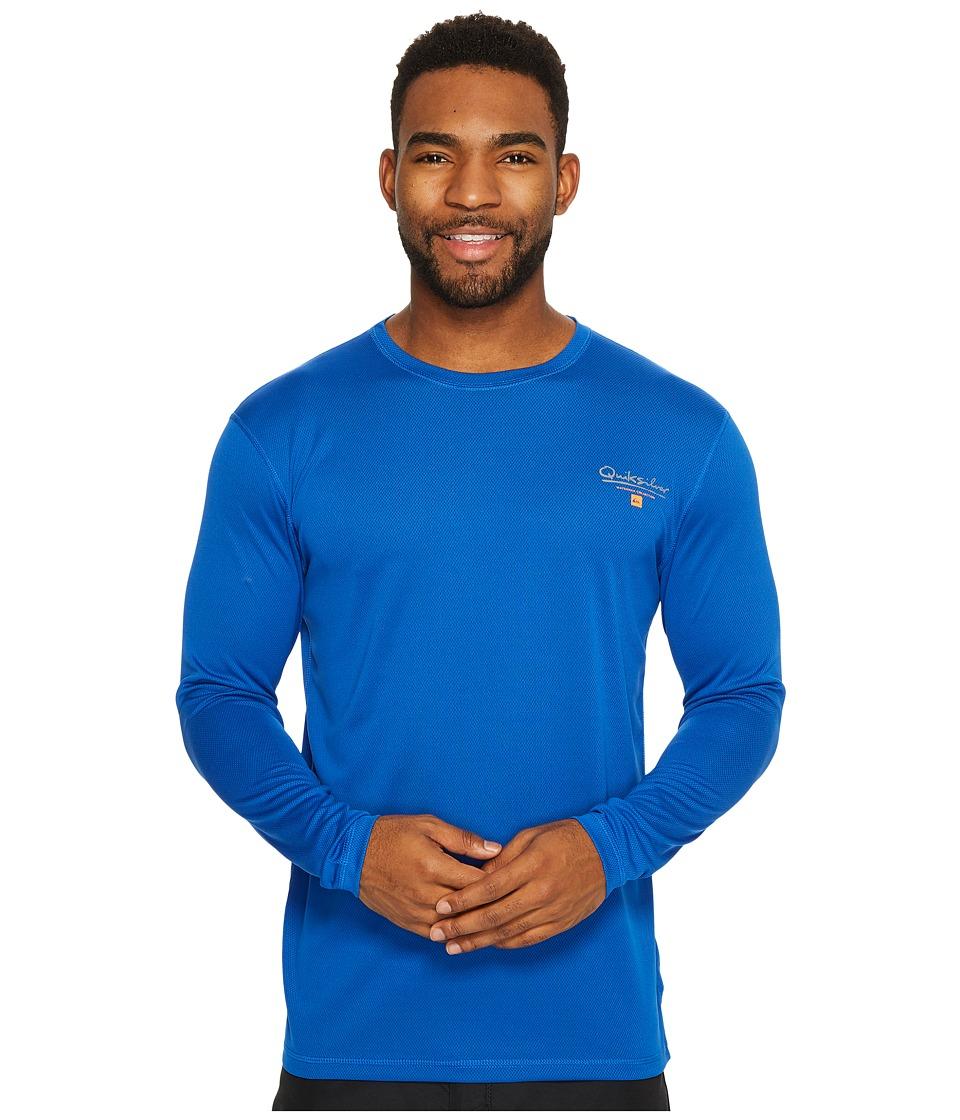 Quiksilver Waterman Gut Check Long Sleeve Rashguard (Olympian Blue) Men
