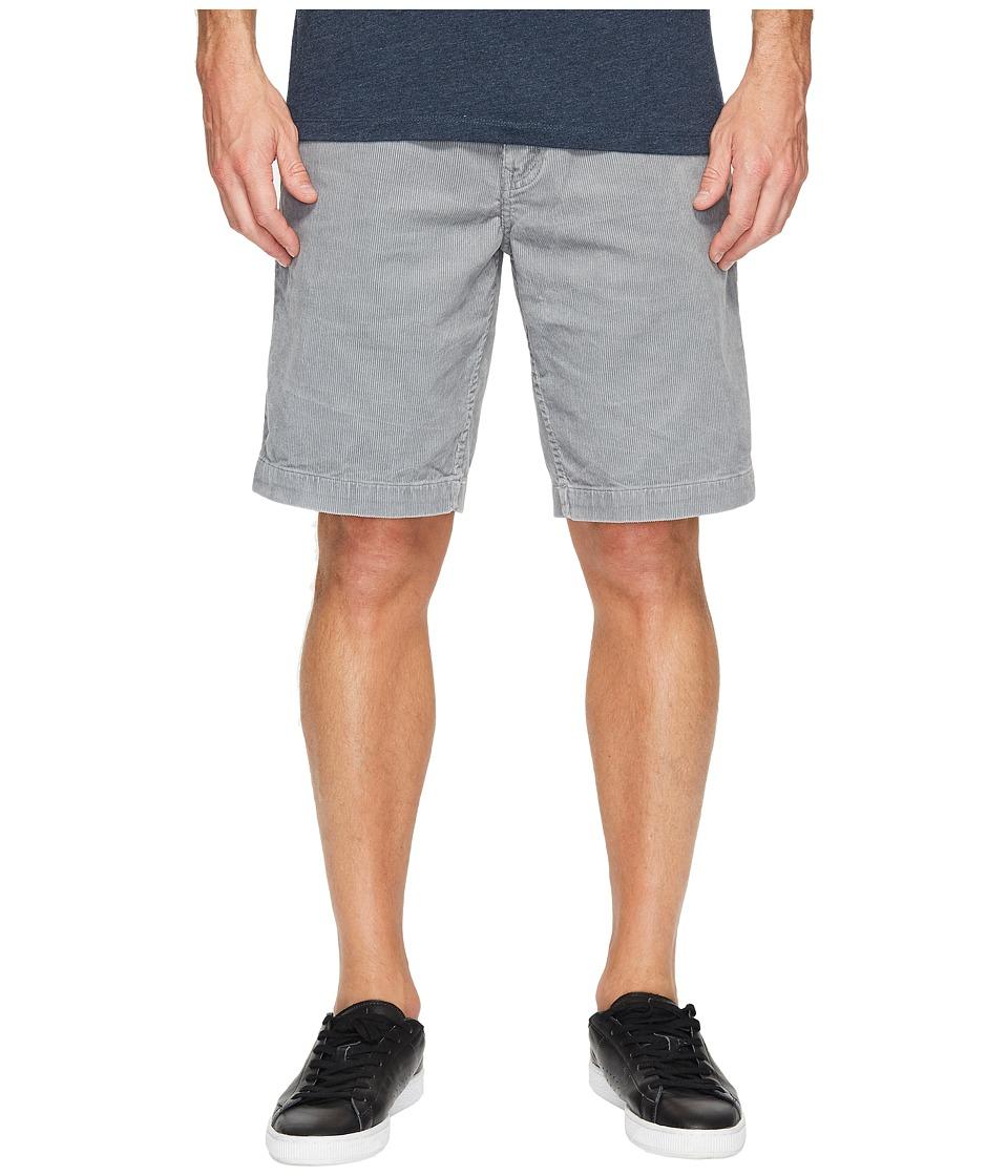 Quiksilver Waterman Corded Surf Walkshorts (Grey) Men