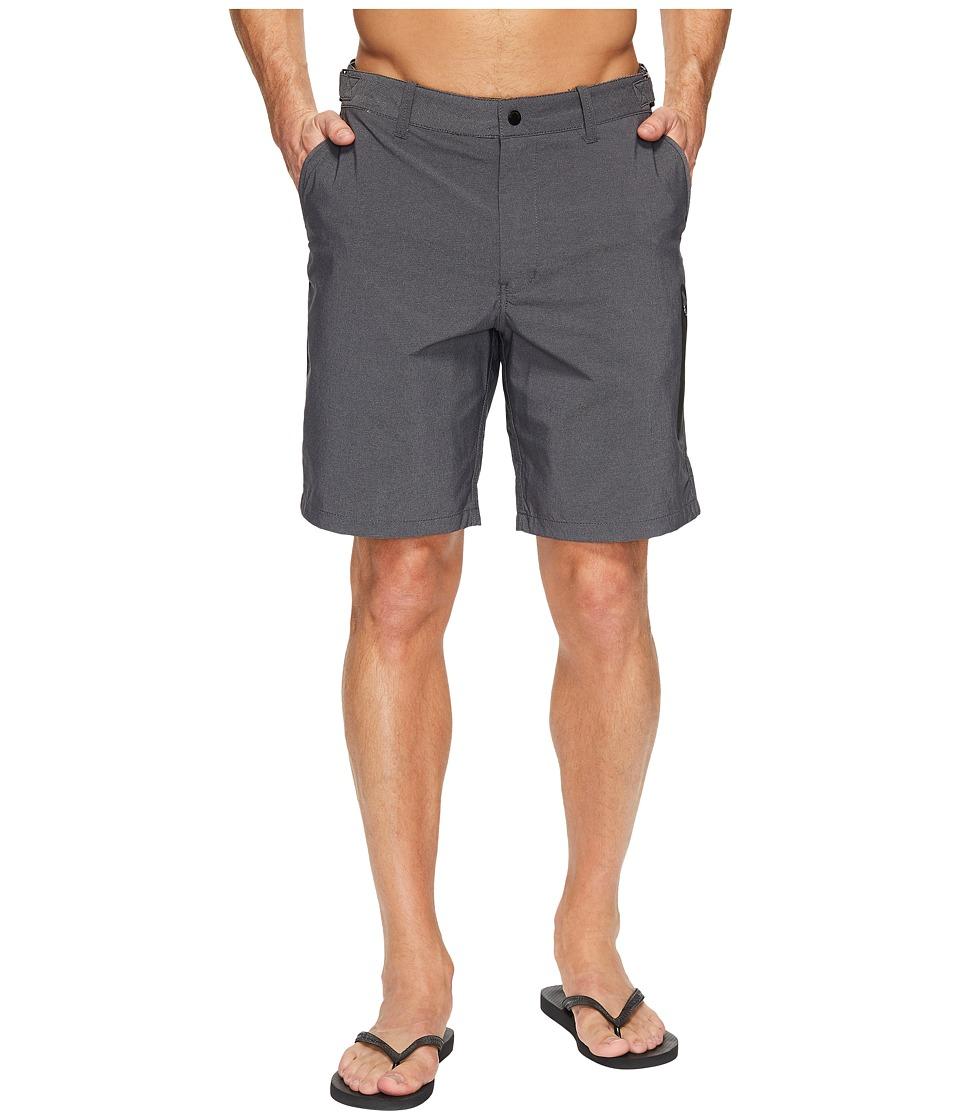 Quiksilver Waterman Stand Up Hybrid Shorts (Black) Men