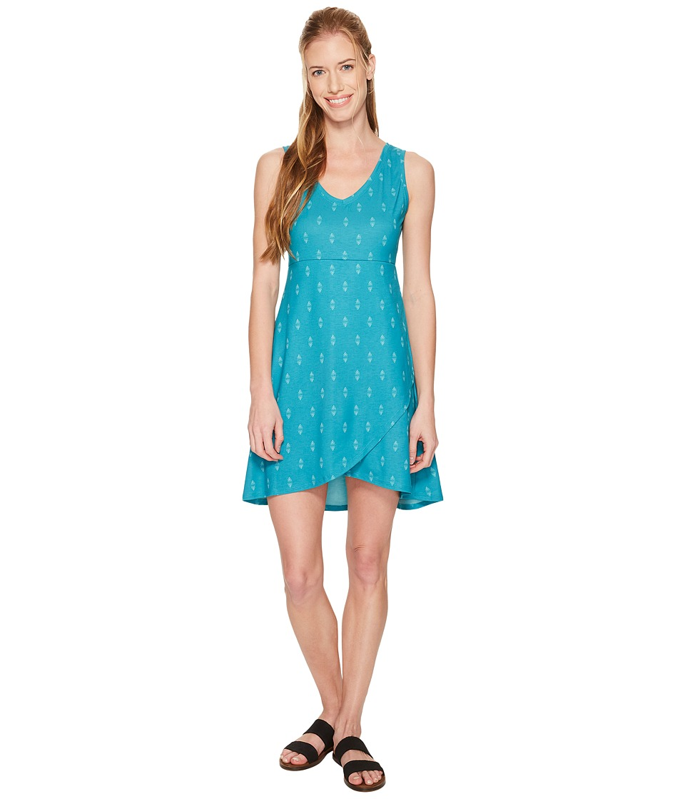 FIG Clothing Axa Dress (Obsidian Turquoise) Women's Dress