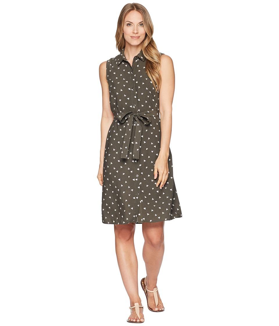 FIG Clothing - Luc Dress (Ginkgo Green) Womens Dress