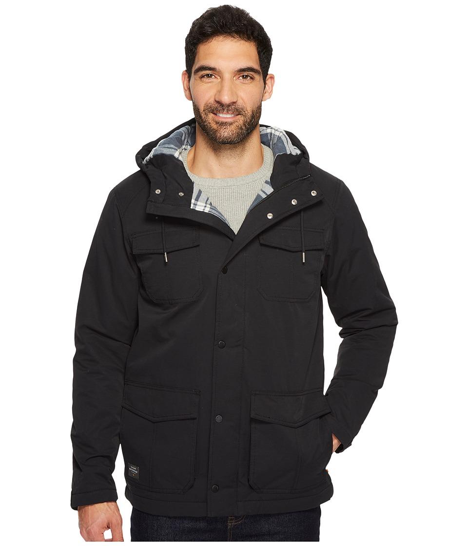 Quiksilver Waterman Weather Jacket (Black) Men