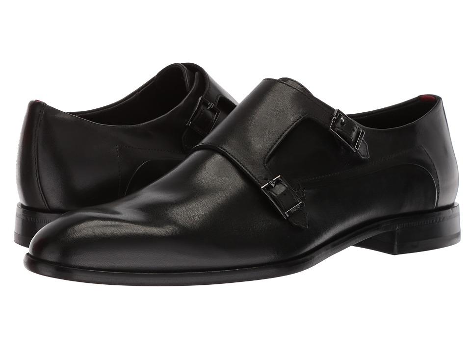 BOSS Hugo Boss - Dress Appeal Monk By Hugo (Black) Mens Shoes