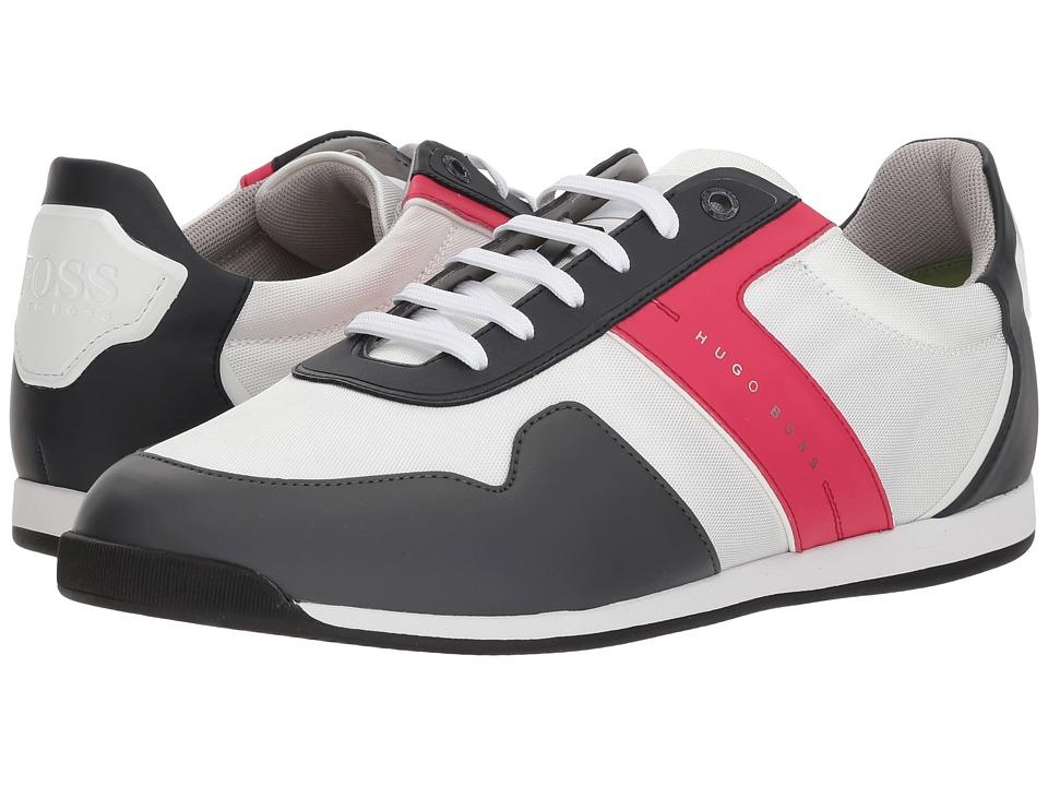BOSS Hugo Boss - Maze Low Profile Sneaker By Boss Green (Oxford) Mens Shoes