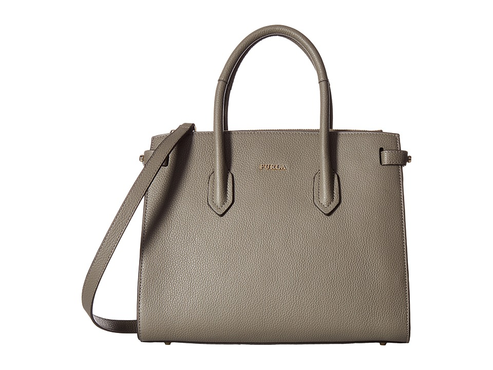 Furla - Pim Small Tote East/West (Argilla) Tote Handbags