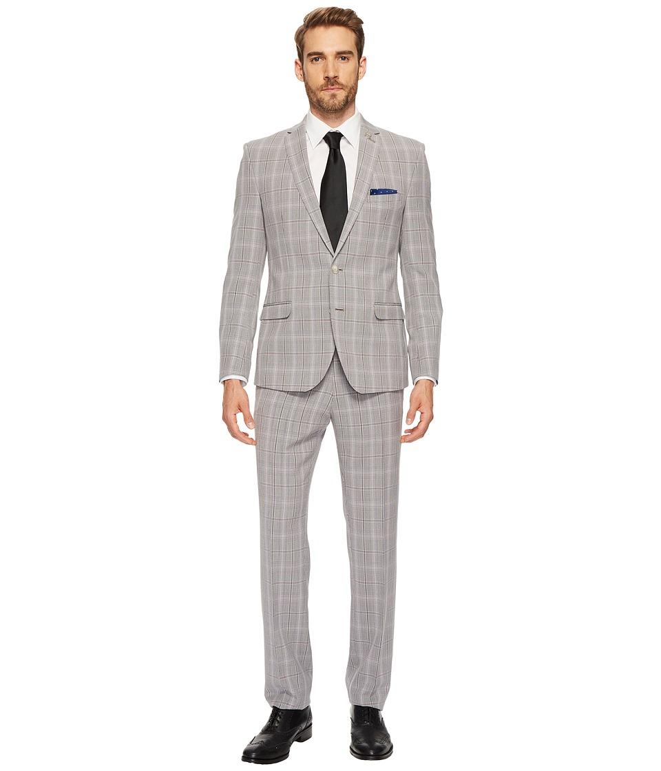 Nick Graham - Black White Plaid Suit