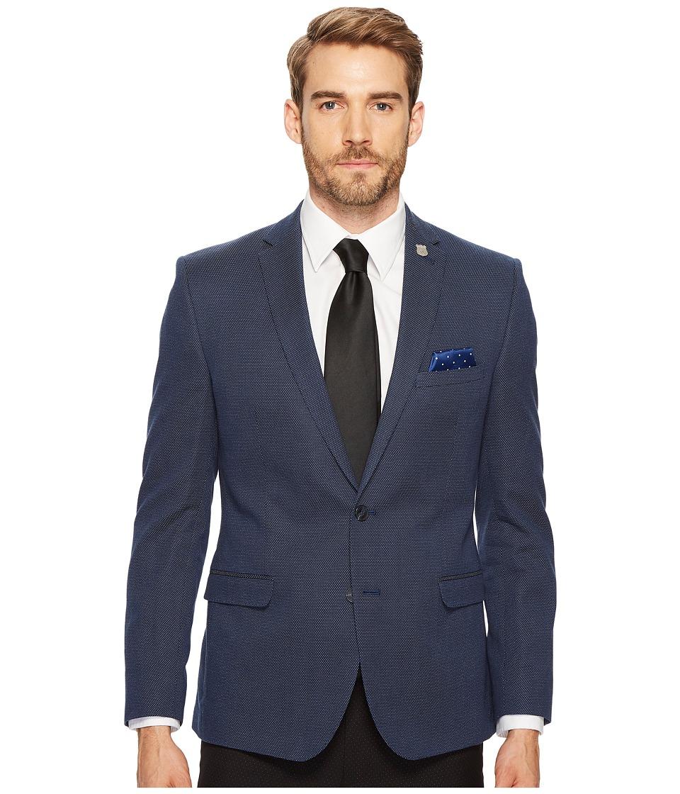 Nick Graham Suiting Blue Dot Sport Coat (Blue Dot) Men