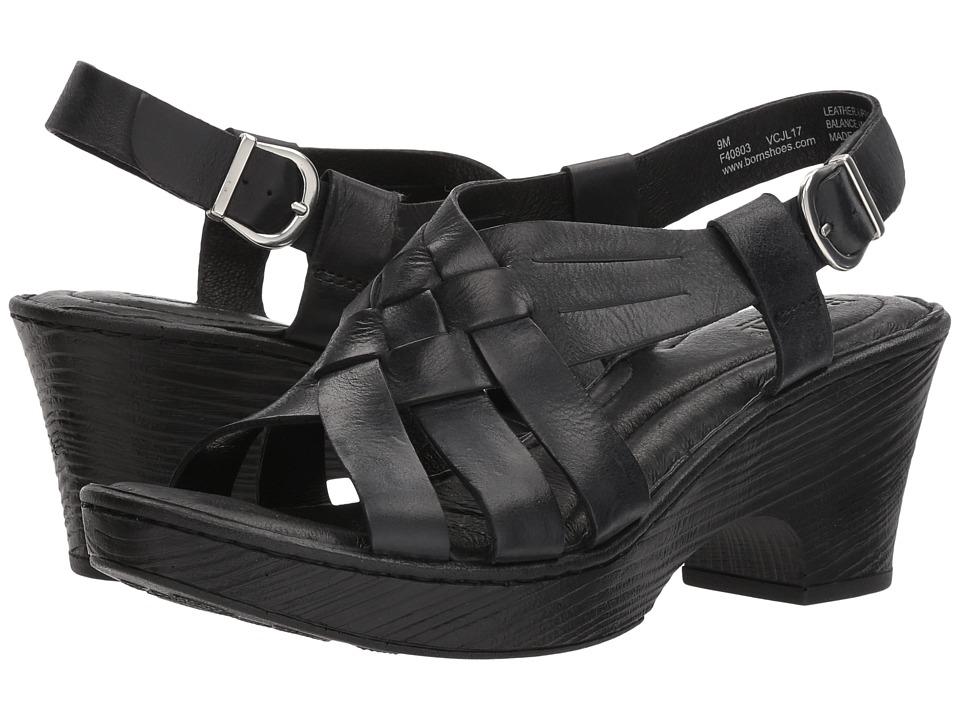 Born Crevalle (Black Full Grain Leather) Women