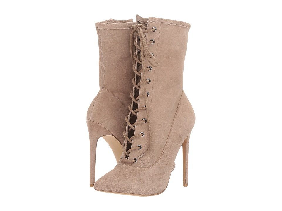 Steve Madden Satisfied (Taupe Suede) Women