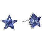 Betsey Johnson Blue and Silver Star Stud Earrings