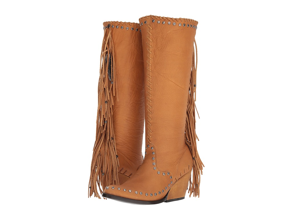 Double D Ranchwear by Old Gringo - Spirit Quest (Camel) Womens Boots