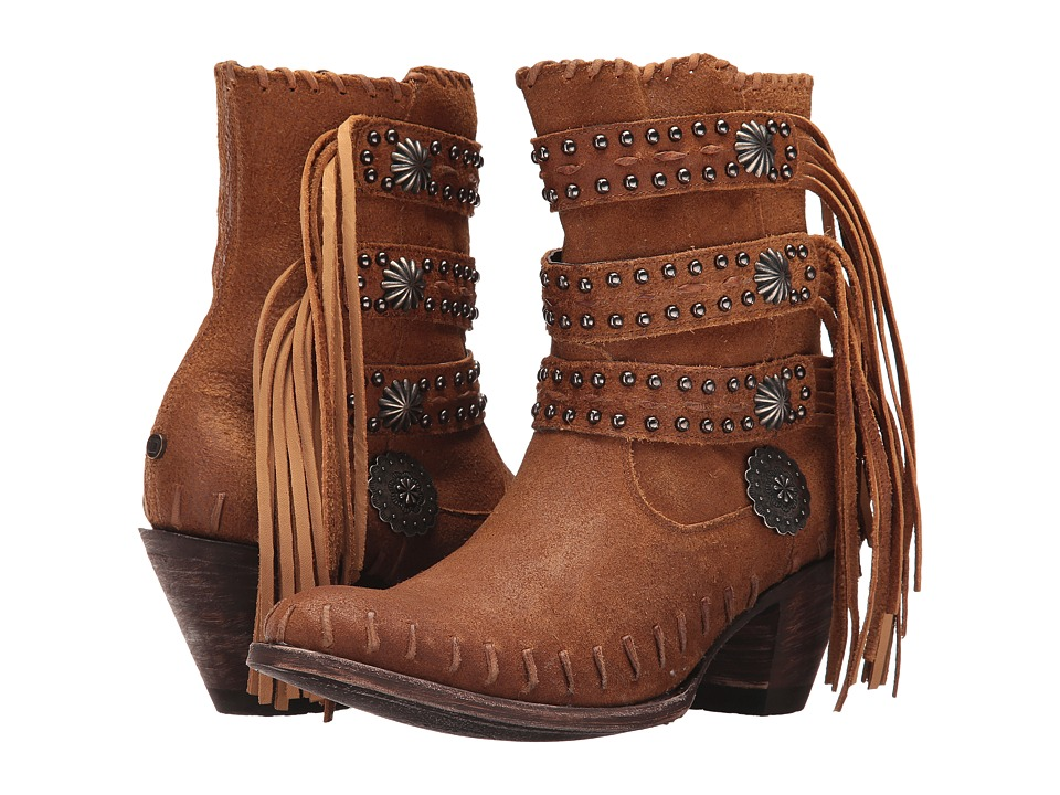 Double D Ranchwear by Old Gringo - Taos People (Tan) Womens Boots
