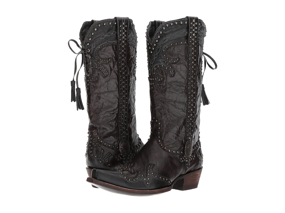 Double D Ranchwear by Old Gringo - Badlands (Brass/Chocolate) Womens Boots