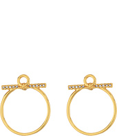 Rebecca Minkoff - Front Facing Hoop Earrings