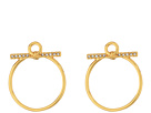 Rebecca Minkoff Front Facing Hoop Earrings