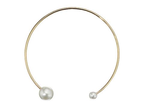 Rebecca Minkoff Sphere Collar Necklace - Pearl