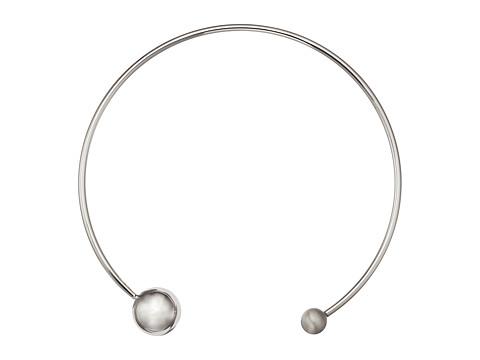 Rebecca Minkoff Sphere Collar Necklace - Silver