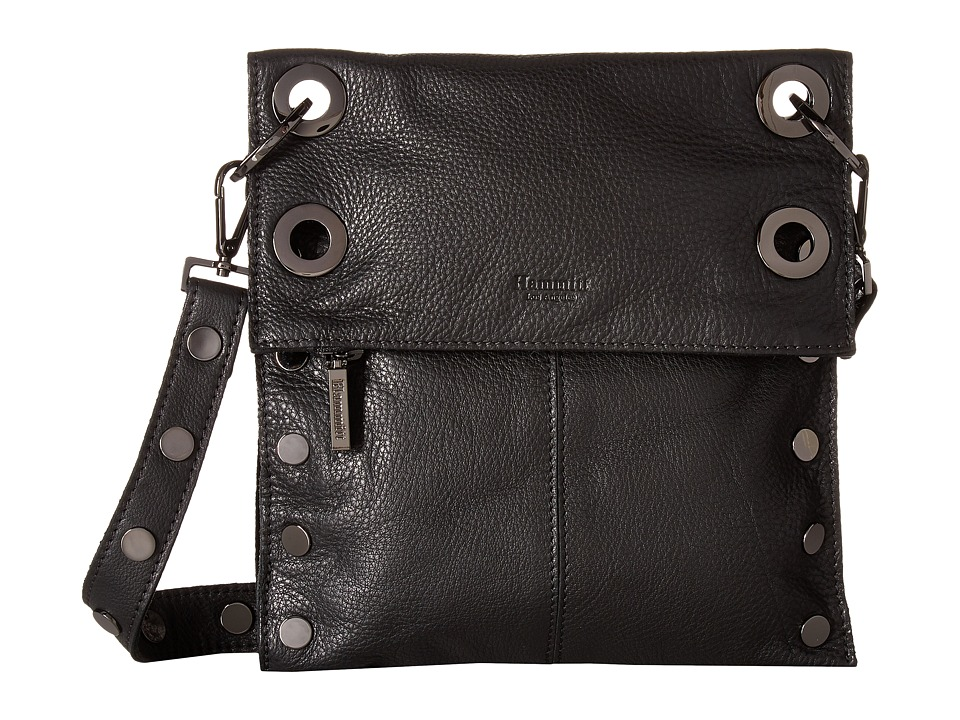 Hammitt - LSM Rev (Black/Gunmetal) Cross Body Handbags