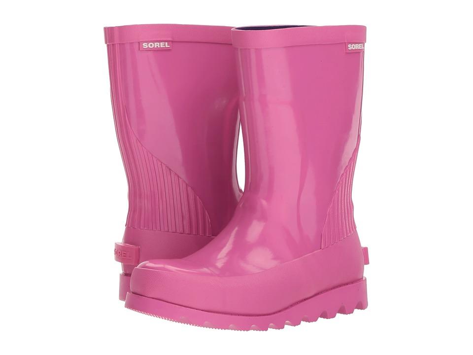SOREL Kids - Rain Boot Gloss (Little Kid/Big Kid) (Pink Ice/Emperor) Kids Shoes