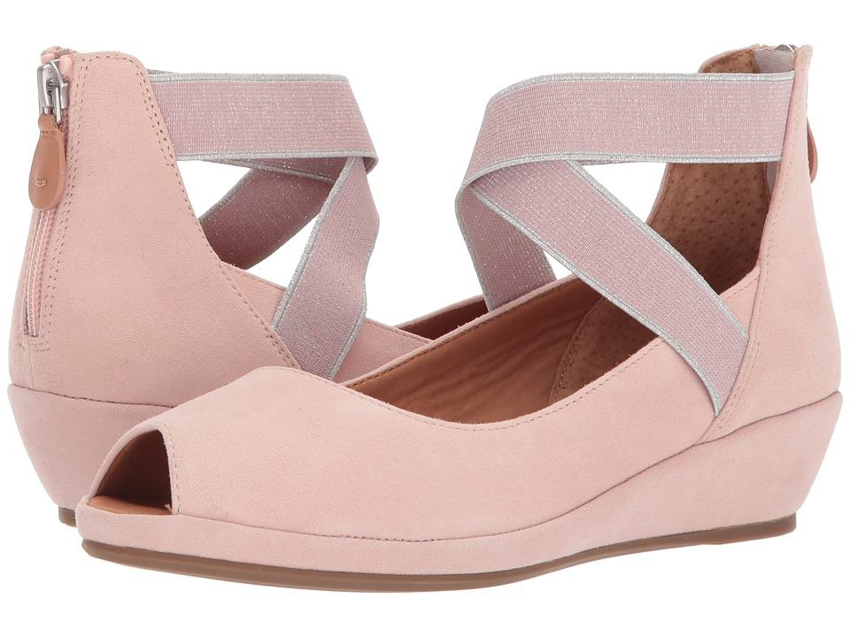 Vintage Sandals | Wedges, Espadrilles – 30s, 40s, 50s, 60s, 70s Gentle Souls - Lisa Peony Womens Wedge Shoes $199.00 AT vintagedancer.com