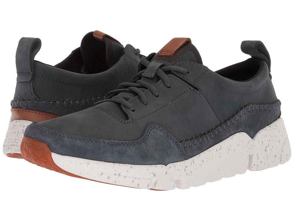 Clarks - TriActive Run (Blue Nubuck) Mens Lace up casual Shoes