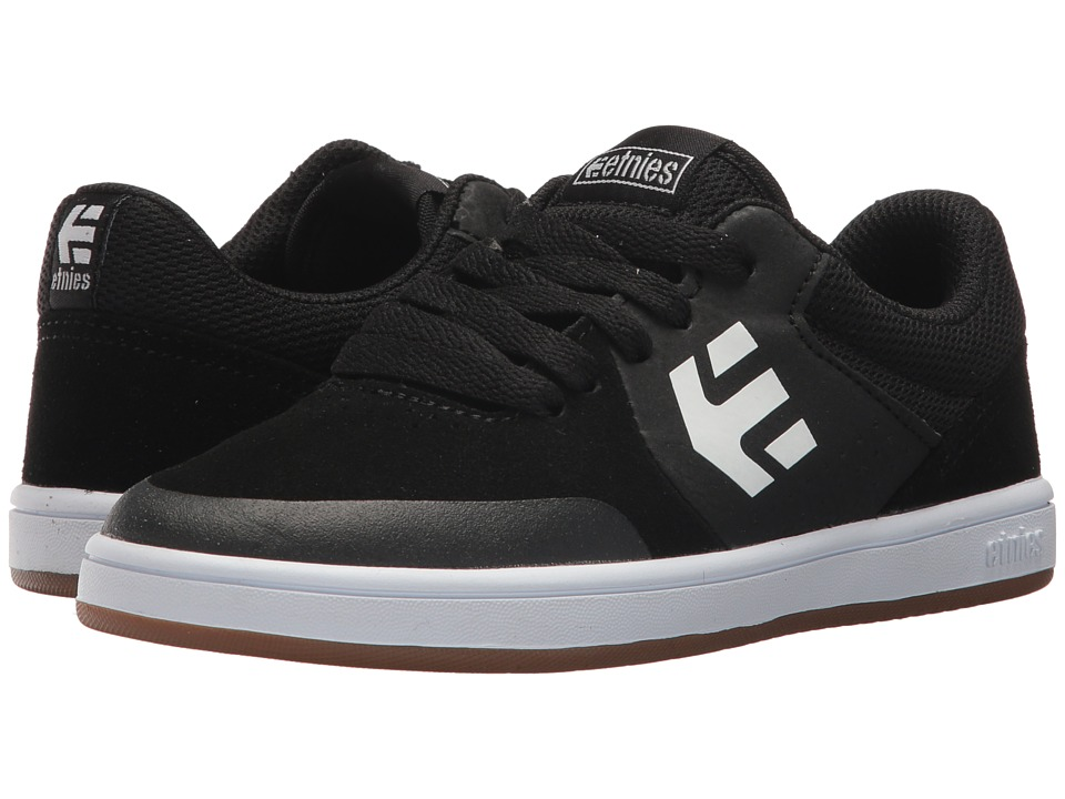 etnies Kids - Marana (Toddler/Little Kid/Big Kid) (Black/Gum/White) Boys Shoes