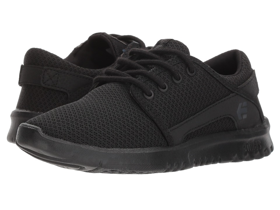 etnies Kids - Scout (Toddler/Little Kid/Big Kid) (Black/Black) Boys Shoes