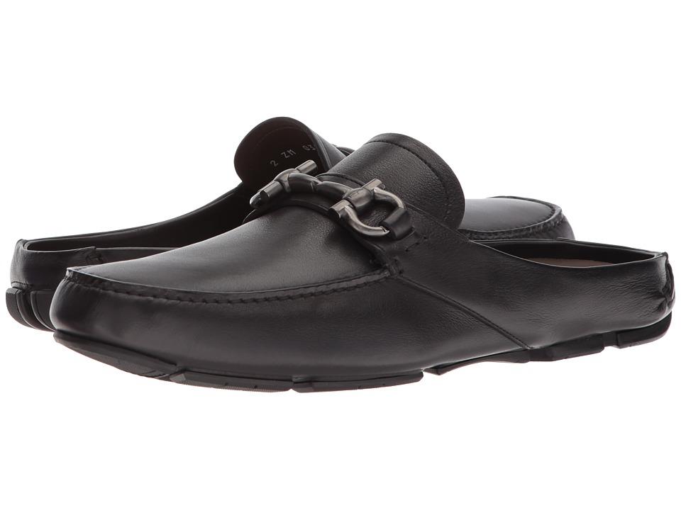 Salvatore Ferragamo - Duca 2 (Nero) Mens Slip on  Shoes