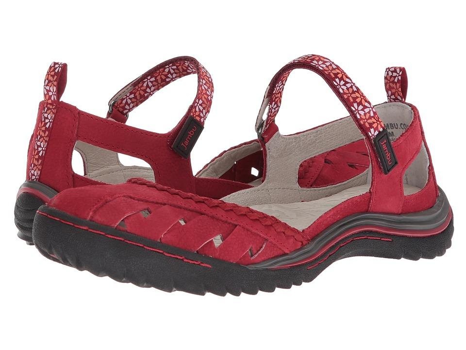 Jambu - Apple Blossom (Red) Womens Shoes