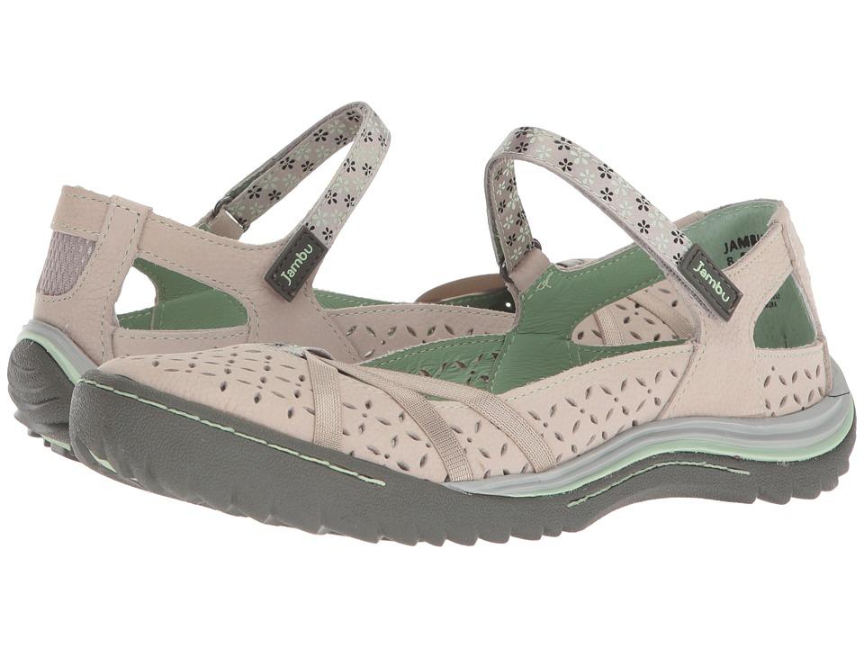 Jambu - Cherry Blossom (Light Grey/Pastel Green) Womens Shoes