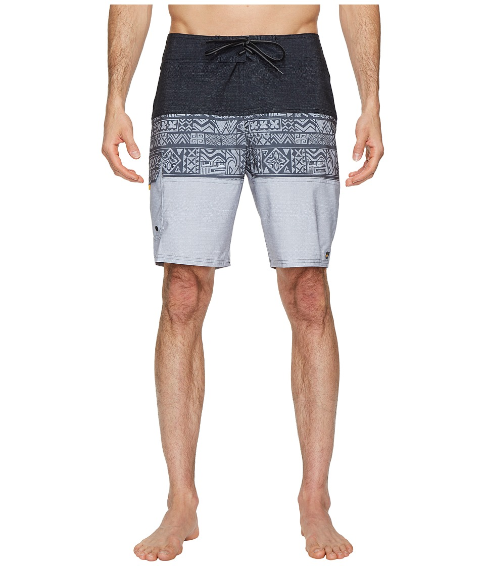 Quiksilver Waterman Fairway Tri Block Boardshorts (Black) Men