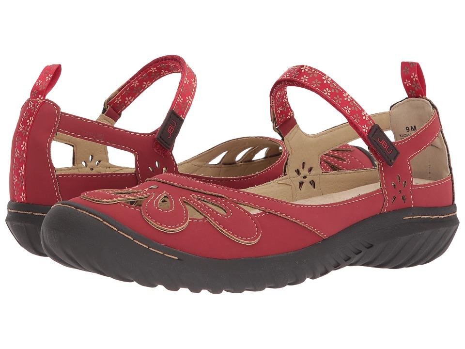 JBU Wildflower Encore (Red) Women's Shoes