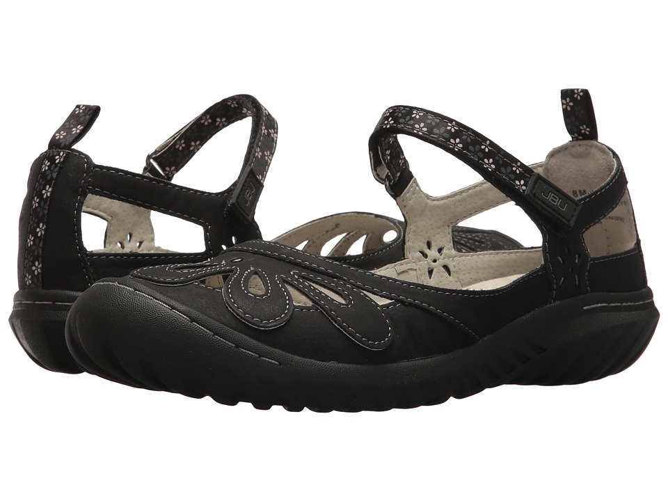 JBU Wildflower Encore (Black) Women's Shoes