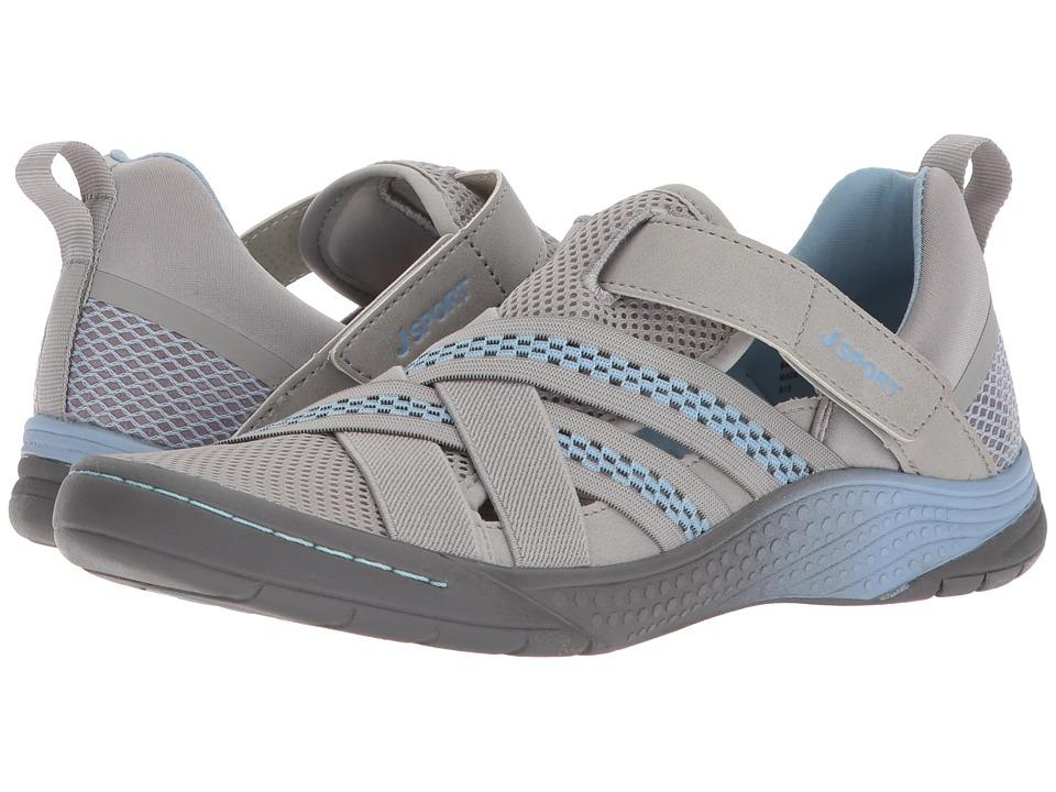 JBU - Essex (Light Grey/Stone Blue) Women's Shoes