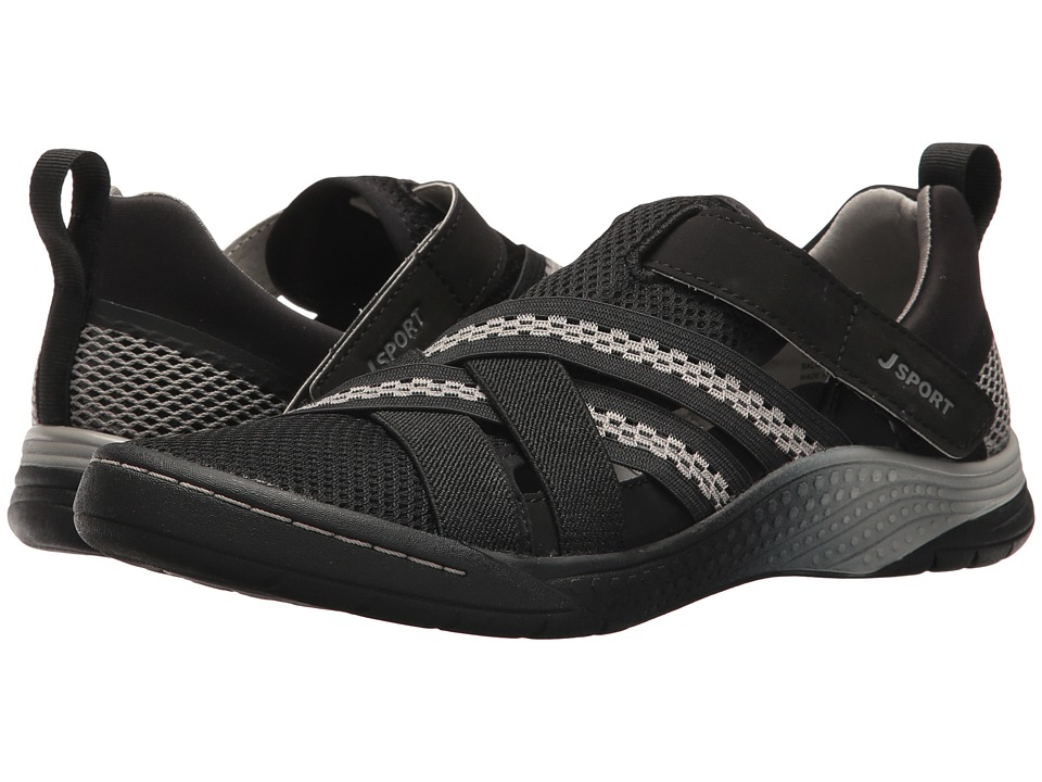 JBU - Essex (Black/Light Grey) Women's Shoes
