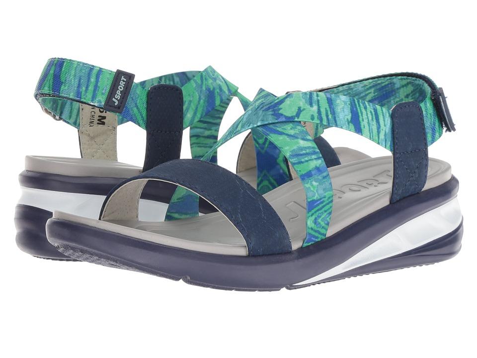 JBU Sunny (Blue) Women's Shoes
