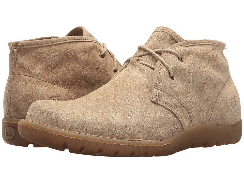 Born - Nigel Chukka (Natural Suede) Mens Lace-up Boots