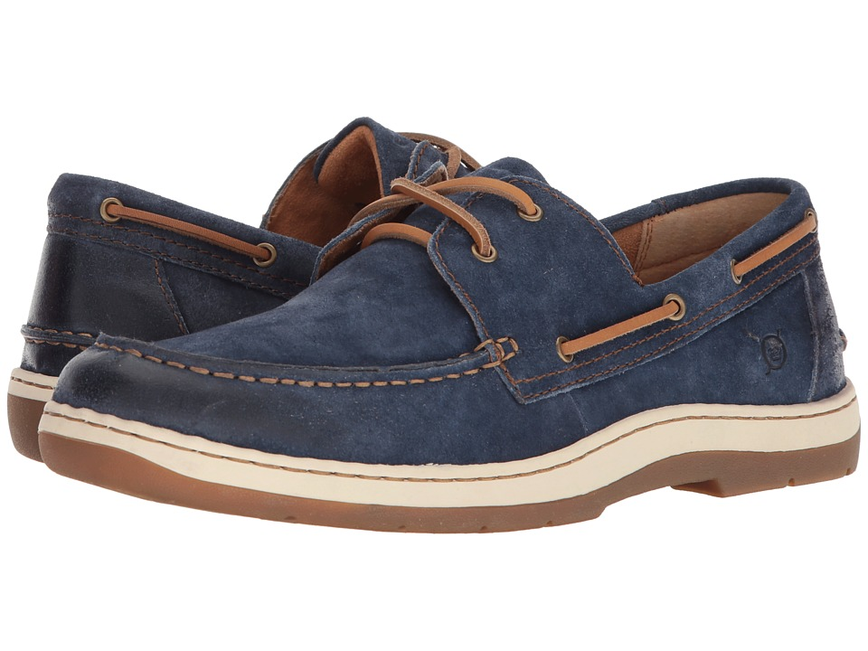 Born - Ocean (Dark Blue Distressed) Mens Lace up casual Shoes