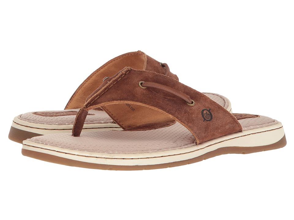 Born - Wharf (Rust Distressed) Mens Sandals