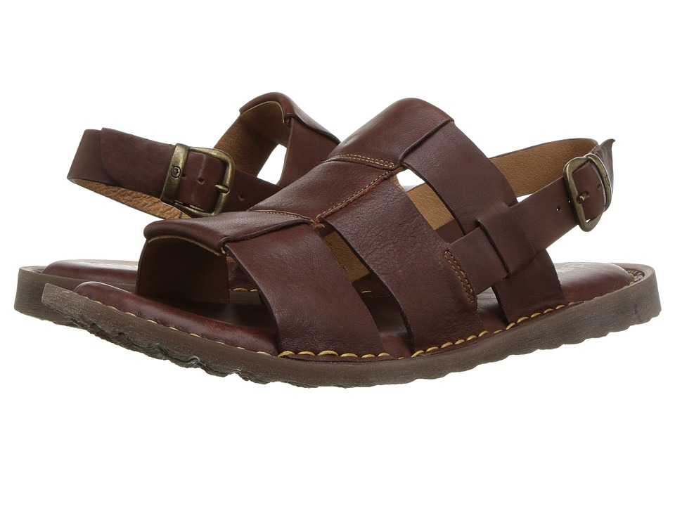 Born - Surf (Brown Full Grain Leather) Mens Sandals