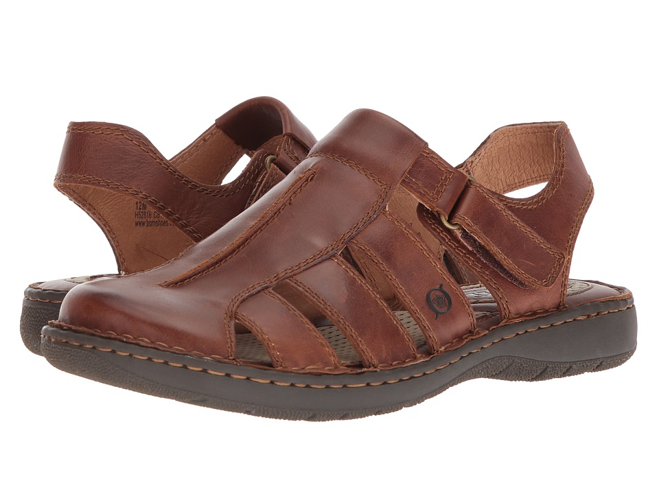 Born - Justice (Tan Full Grain Leather) Mens Sandals