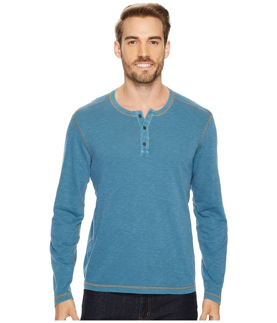 Agave Denim - Pintail Long Sleeve Henley Slub Jersey