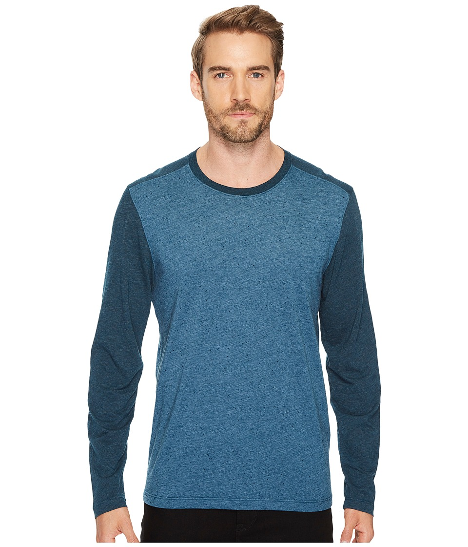 Agave Denim - Shoaling Long Sleeve Color Block Neps T