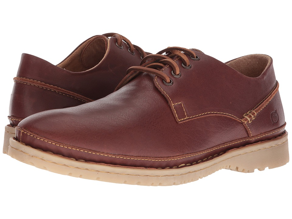 Born - Gilles (Brown Full Grain Leather) Mens Lace up casual Shoes