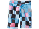Quiksilver Kids Resin Check Volley Shorts (Toddler/Little Kids)