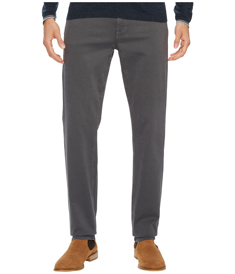 Agave Denim Leadfield Classic Fit Calvary Twill in Gunmetal (Gunmetal) Men