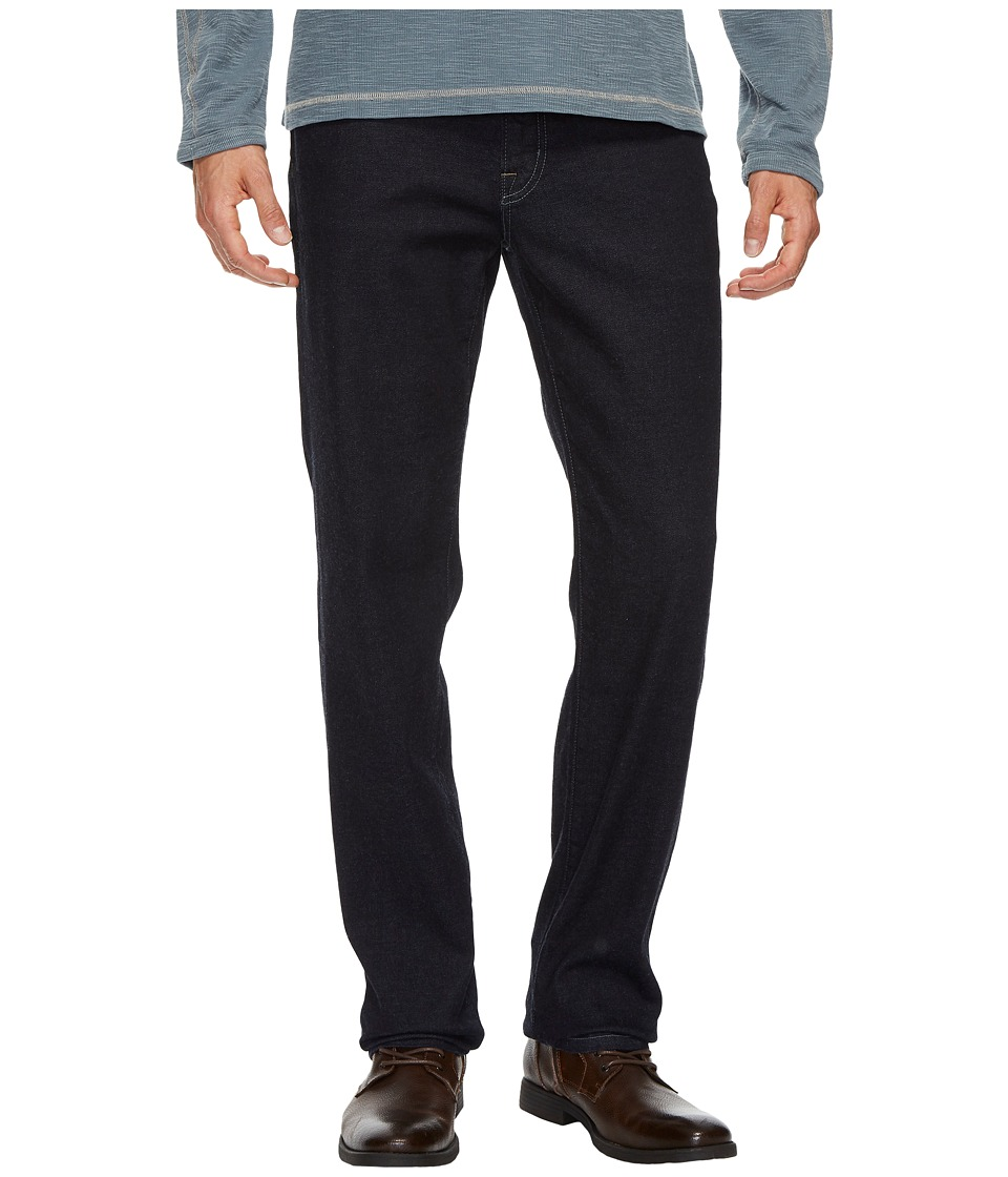 Agave Denim Classic Fit Sweet Supima(r) Cotton in Indigo (Indigo) Men